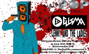 Cartel sala pop