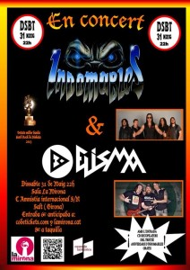 cartel Indomables+Elisma