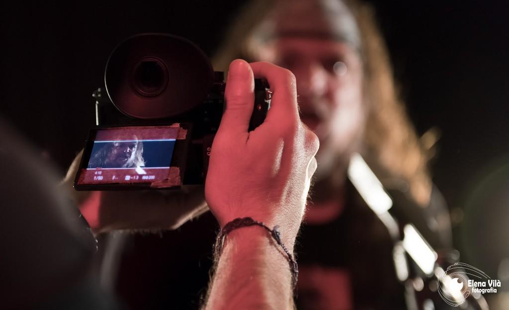 Elisma, rodaje videoclip